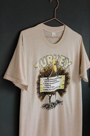 "Image of 80s ""You, You Dumb"" Turkey Shirt"