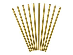 Image of Pajitas de papel dorado