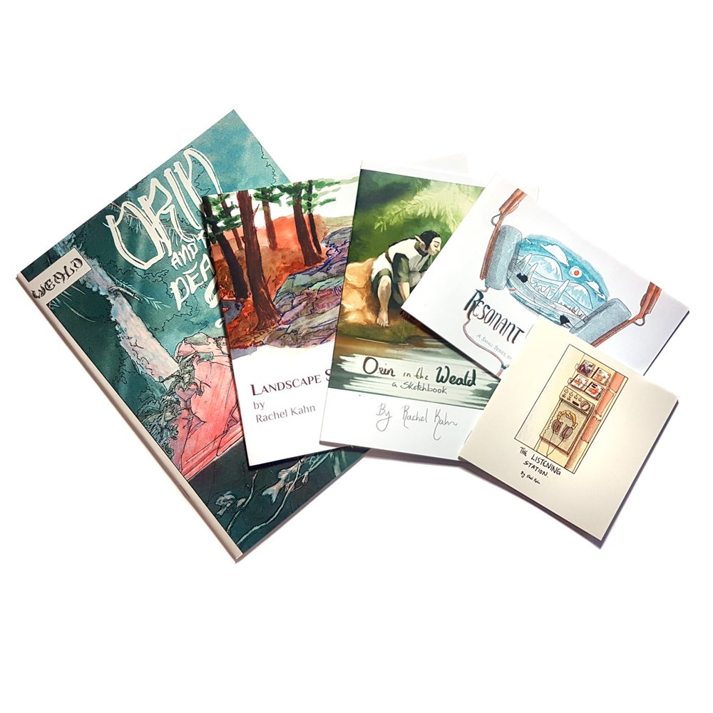 Image of Art and Comic Zines Pack