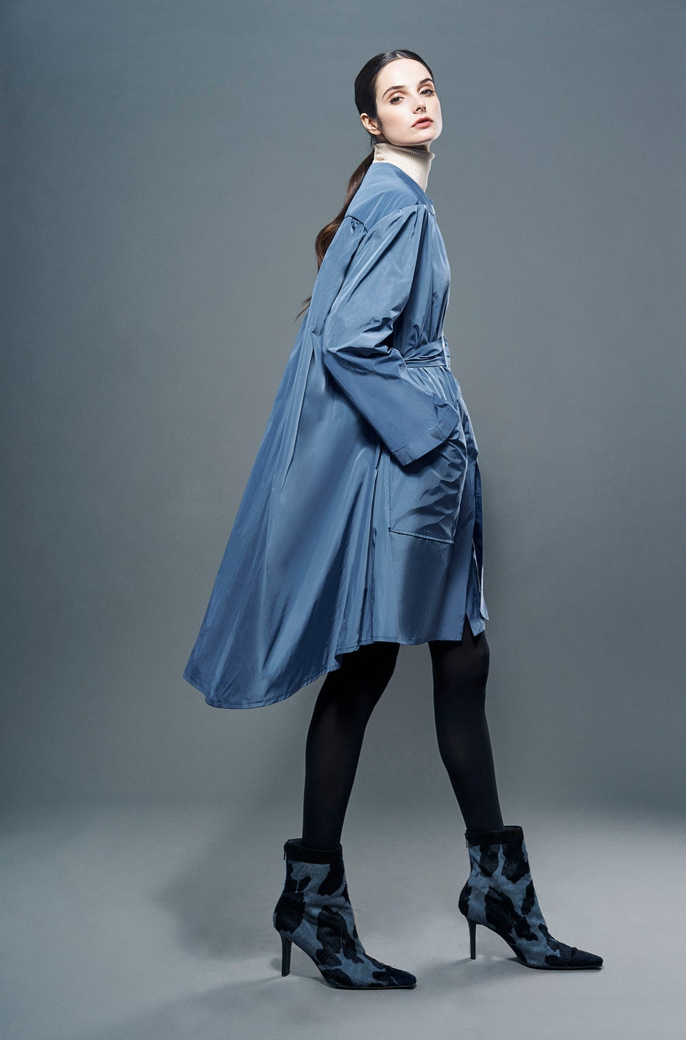 Image of SEMI-FIT RAINCOAT