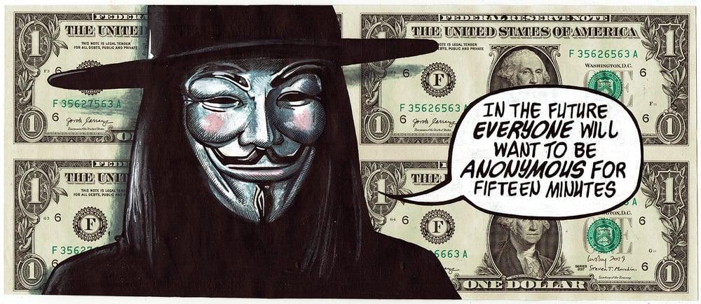 Image of Uncut Dollar Original. Anon