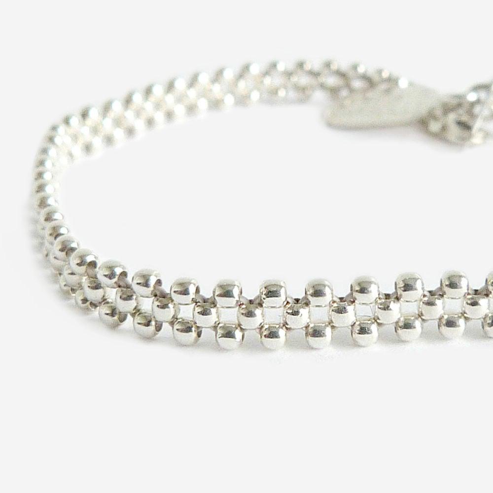 Image of Bracelet argent fin ERIDAN