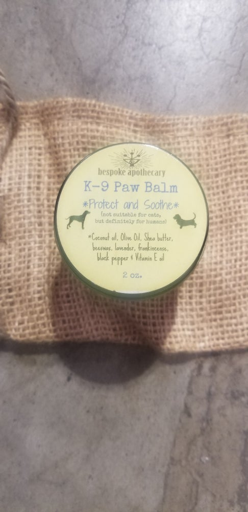 Image of 2 oz. and Organic, DOG Paw Balm