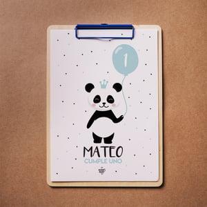 Image of Party Kit Baby Panda Blue