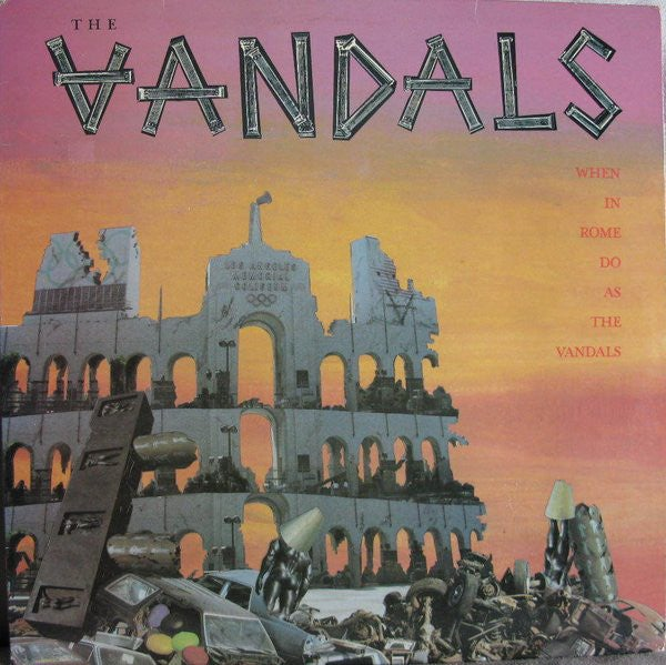 """Image of the VANDALS - """"When In Rome Do As The Vandals"""" LP"""