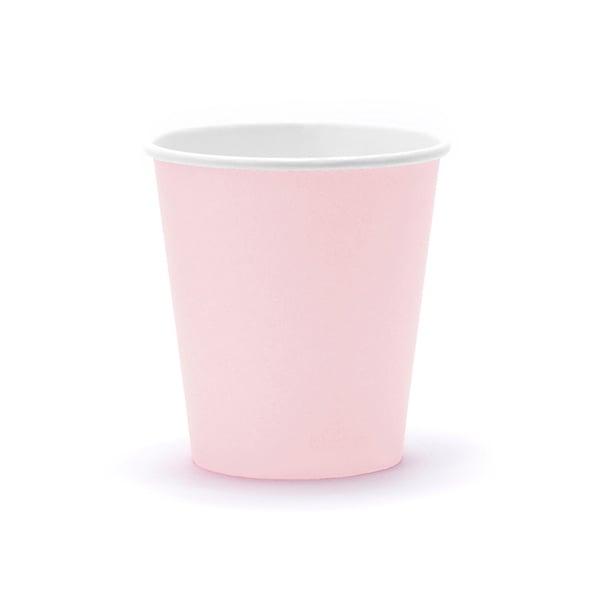 Image of Vasos color rosa - 6 uds