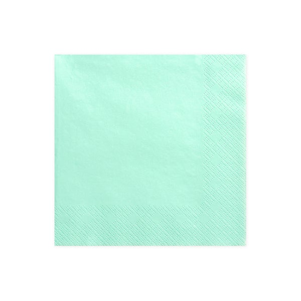 Image of Servilletas color mint