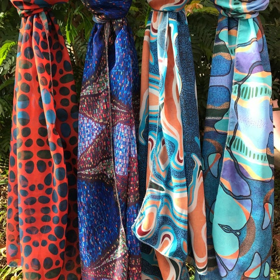 Image of Chiffon Scarves