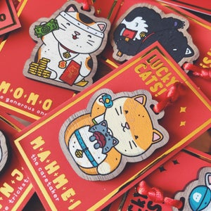 Image of LUCKY CAT CHARM BUNDLE