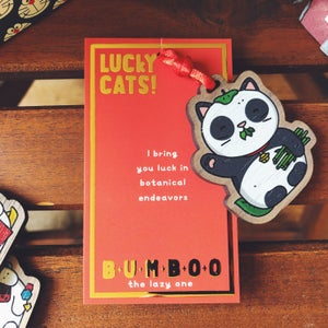 Image of BUMBOO - LUCKY CAT CHARM