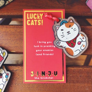 Image of JINJU - LUCKY CAT CHARM