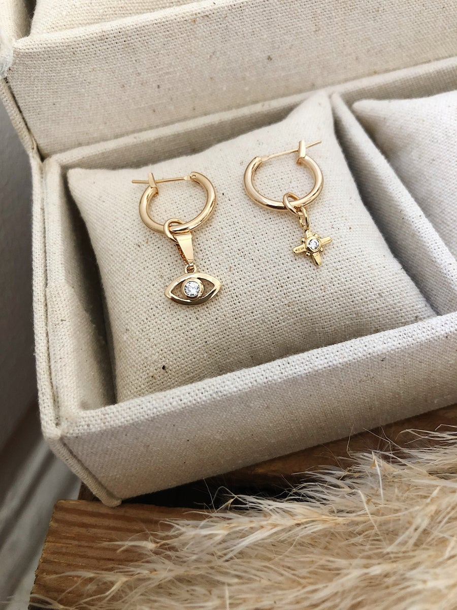 Image of BOUCLES D'OREILLES STELLA & SEE YOU