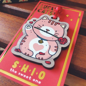 Image of SHIO - LUCKY CAT CHARM