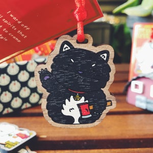 Image of KAMA - LUCKY CAT CHARM