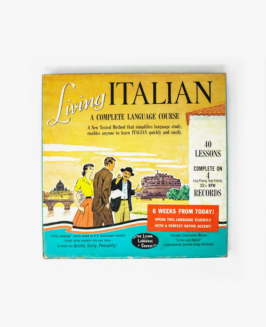 Image of Italian Language Course 4-Record Set