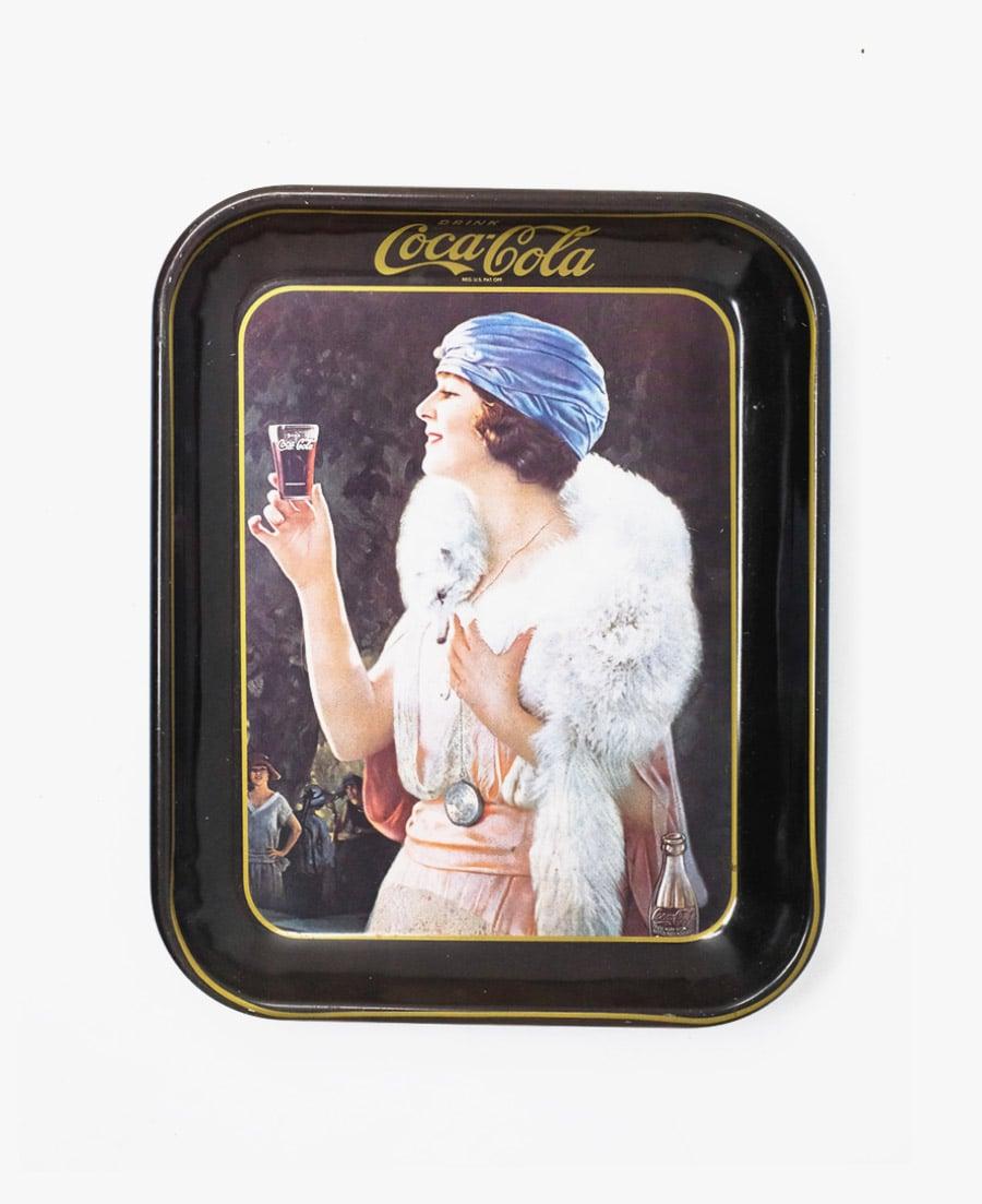Image of Vintage Coca-Cola Tray