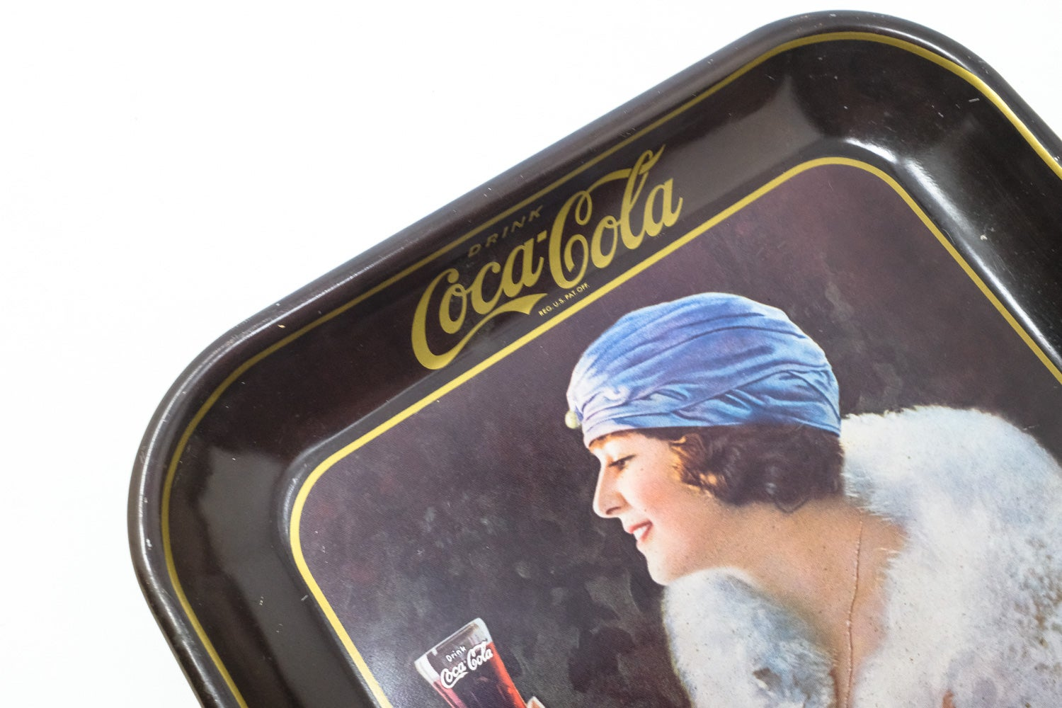 Image of Vintage Coca-Cola Tray
