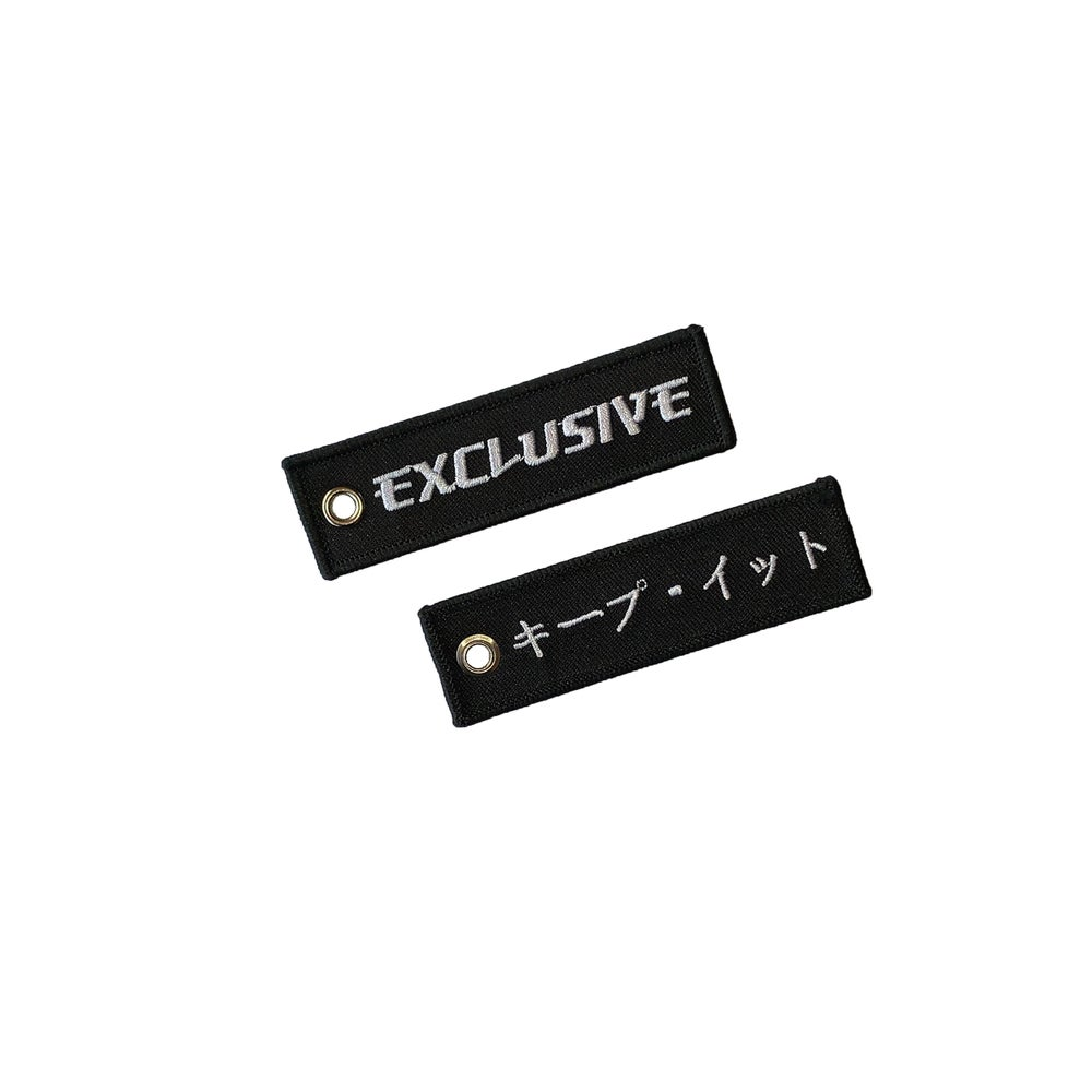 Image of FLIGHT TAG - Black