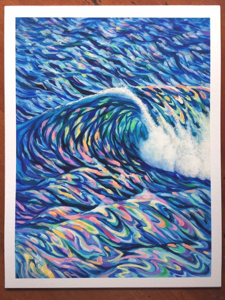 Image of Kona Wave - giclee print