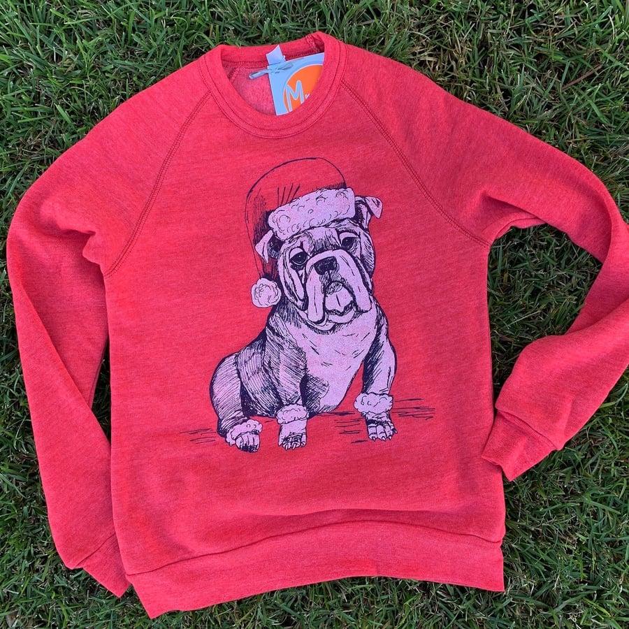 Image of Adult Santa Dawg Sweatshirt