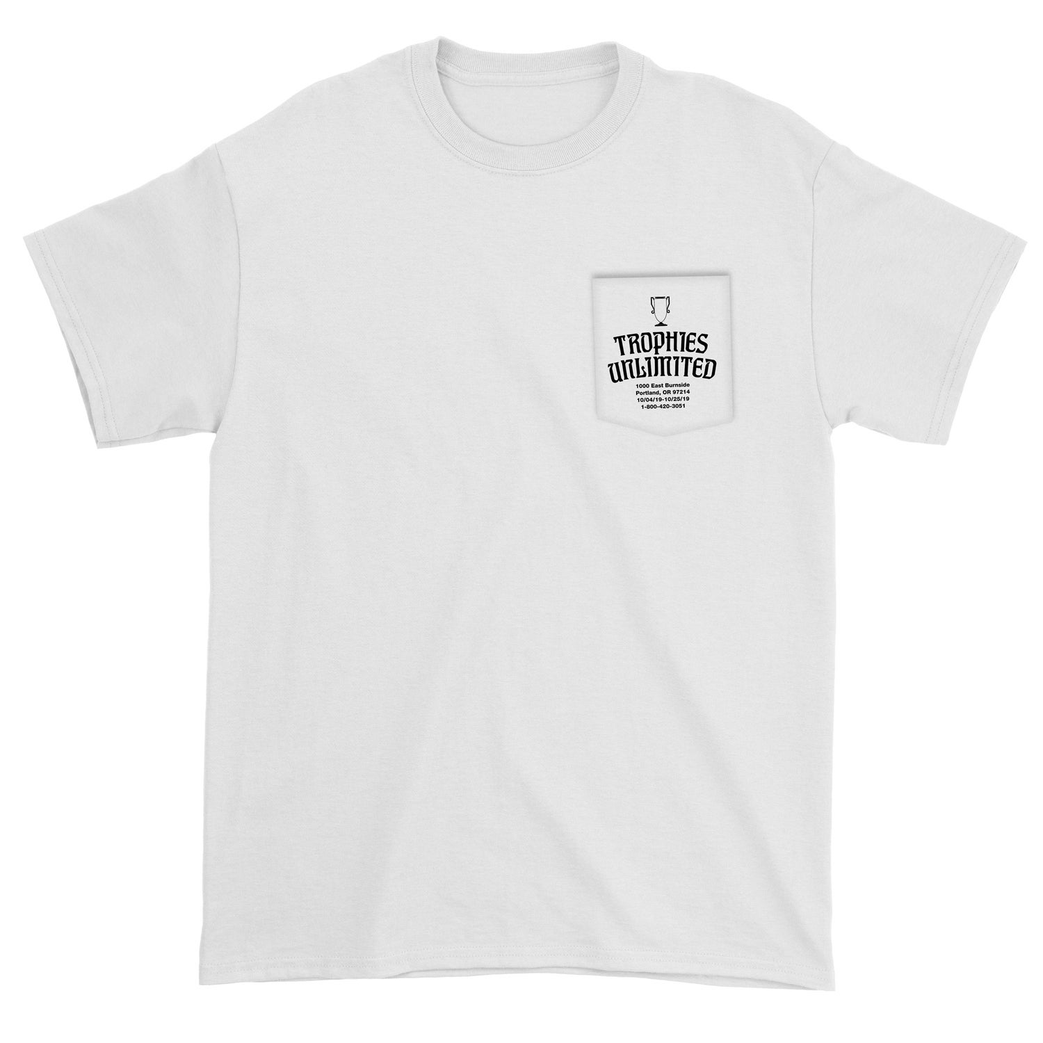 Image of Trophies Unlimited Short Sleeve Pocket Tee