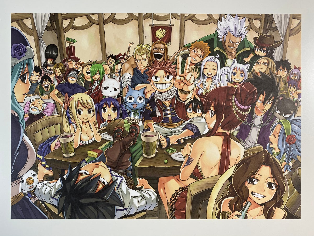 Image result for fairy tail manga