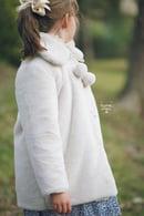 Image 5 of Pippa Pom Pom Luxury Faux Fur Coat