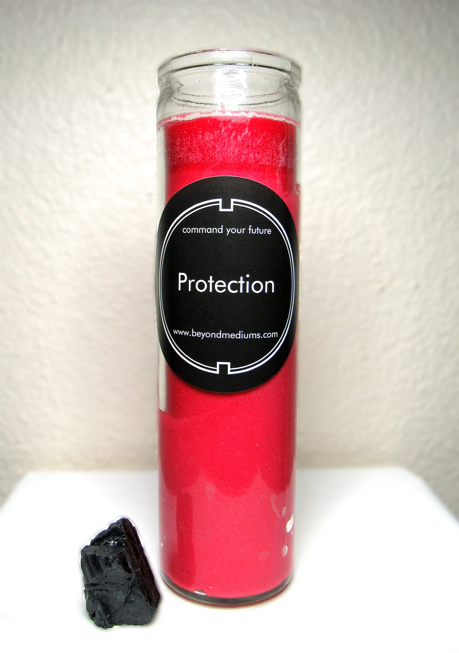 Image of Protection Candle w/ Black Tourmaline