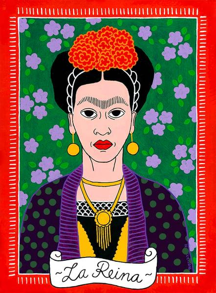 Image of La Reina Frida Kahlo Giclee Print