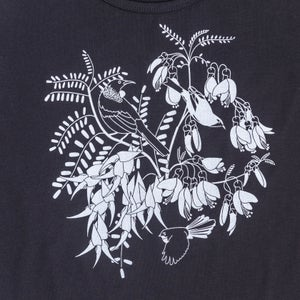 Image of Hand Printed Botanical T-Shirt