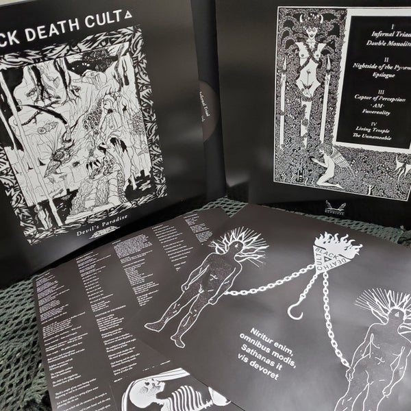 Image of Black Death Cult - Devil's Paradise DLP