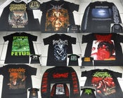Image of MERCH -ENMITY/VOMIT REMNANTS/DRIPPING/CINERARY and others