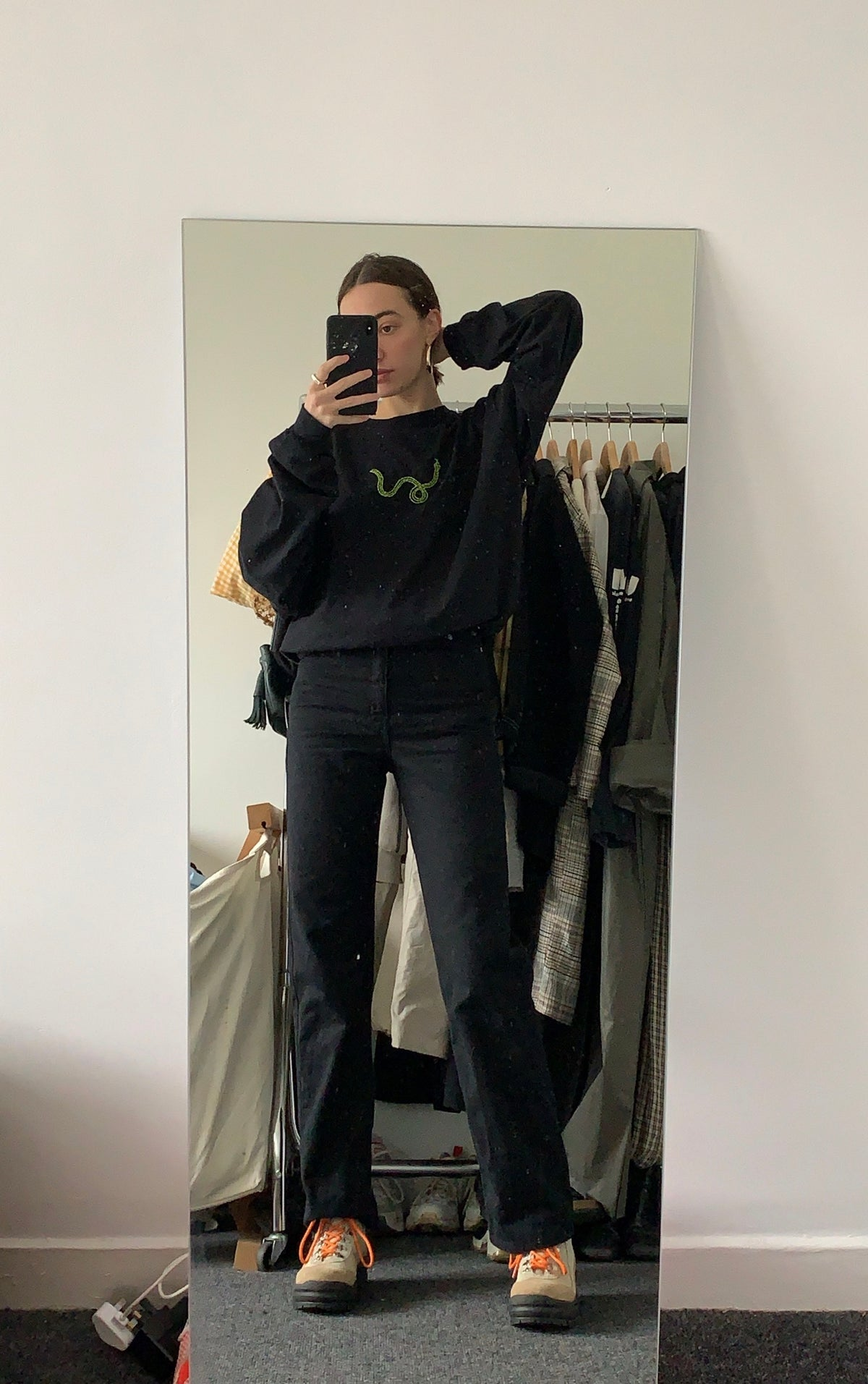 Image of LONG SLEEVE SNAKE TEE