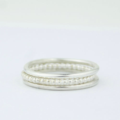 Image of MAKE A SET OF STACKING RINGS (AFTERNOON 26.4.20)