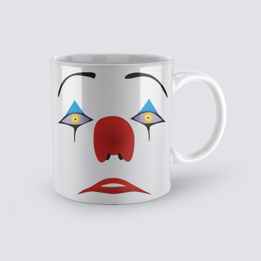 """Image of Pennywise """"Don't You Want It?"""" IT Coffee Mug"""