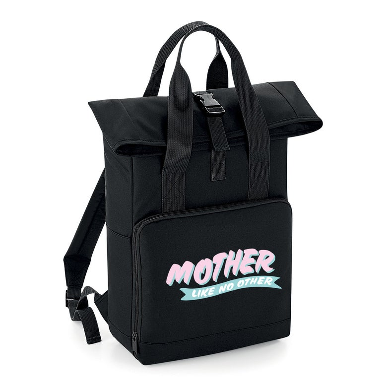 Image of Mother Like No Other roll top backpack