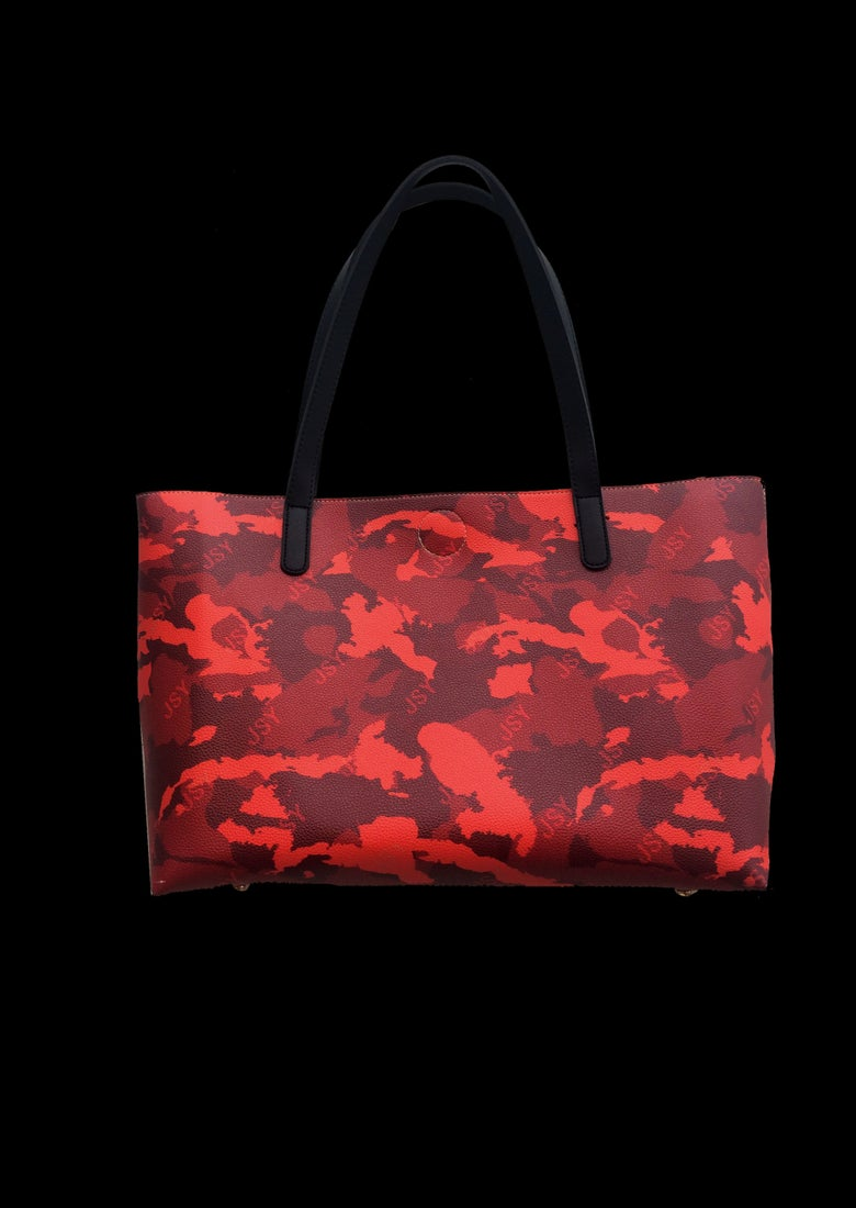 Image of BAG WI CAMO RED