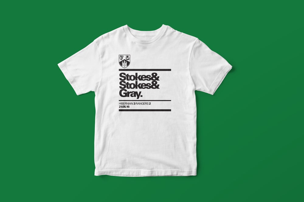 Image of Stokes & Stokes & Gray t-shirt