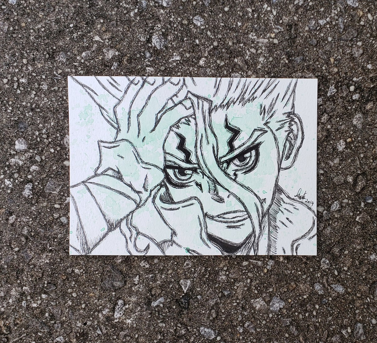 Image of Dr. Stone Character Set