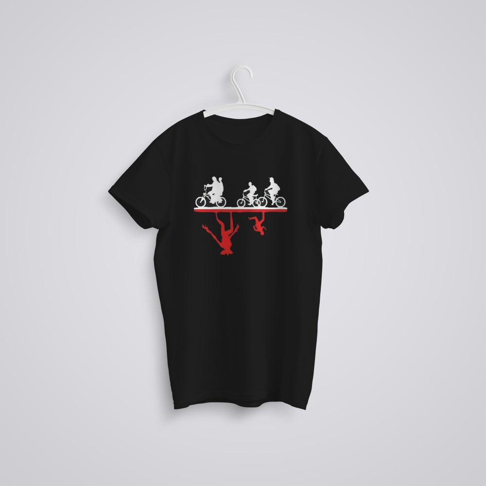 Image of The Upside Down Stranger Things Inspired T-Shirt