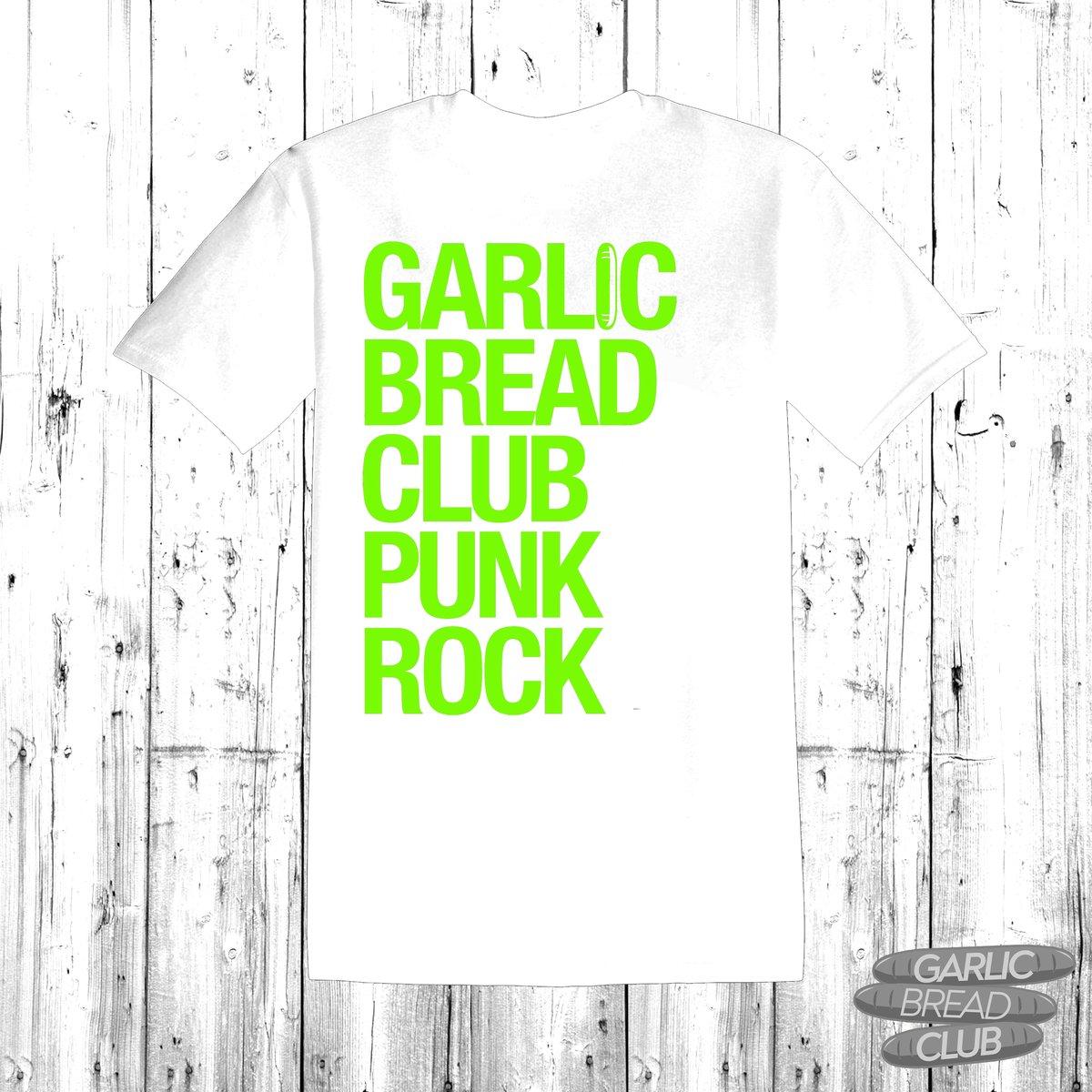 Image of Garlic Bread Club Shirt White/Green