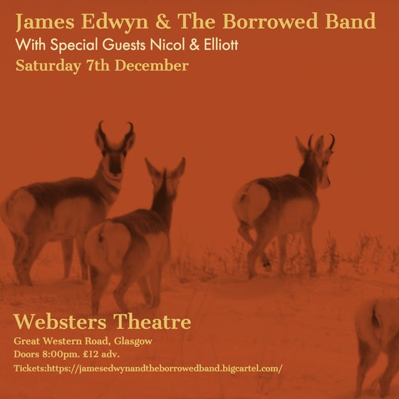 Image of James Edwyn & The Borrowed Band - Websters - 7th December