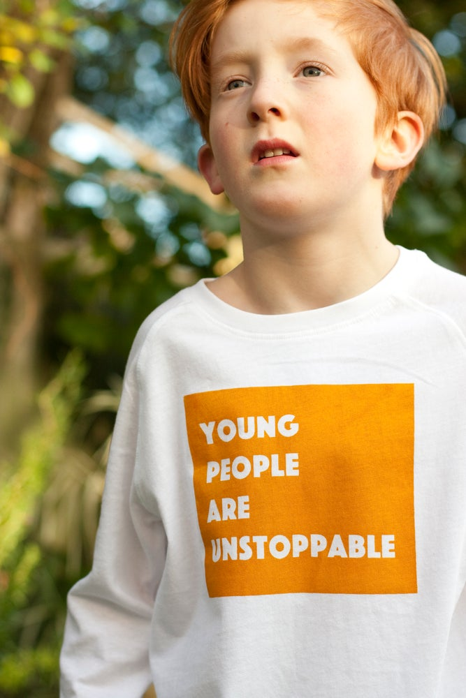 Image of Young people are unstoppable long sleeve t-shirt