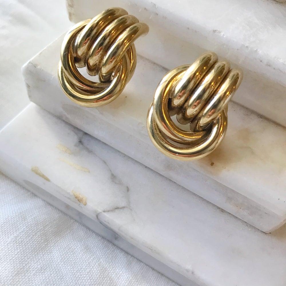 Image of Goldie Earrings #109