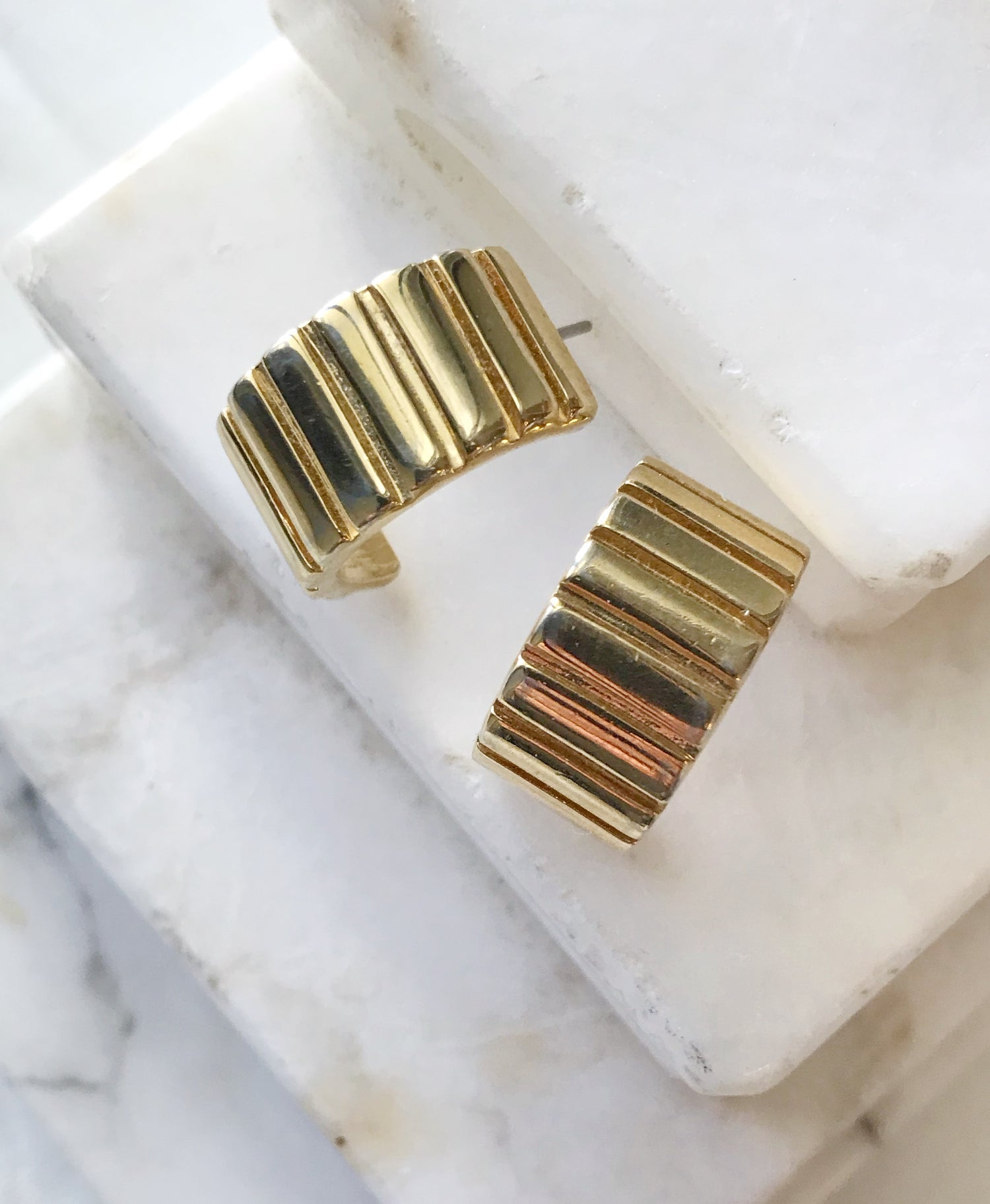 Image of Givenchy Goldie Earrings #102