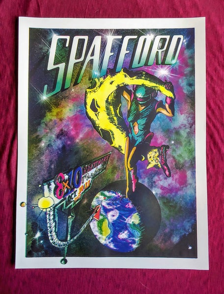 Image of Spafford Baltimore Print 10-10/11-2019