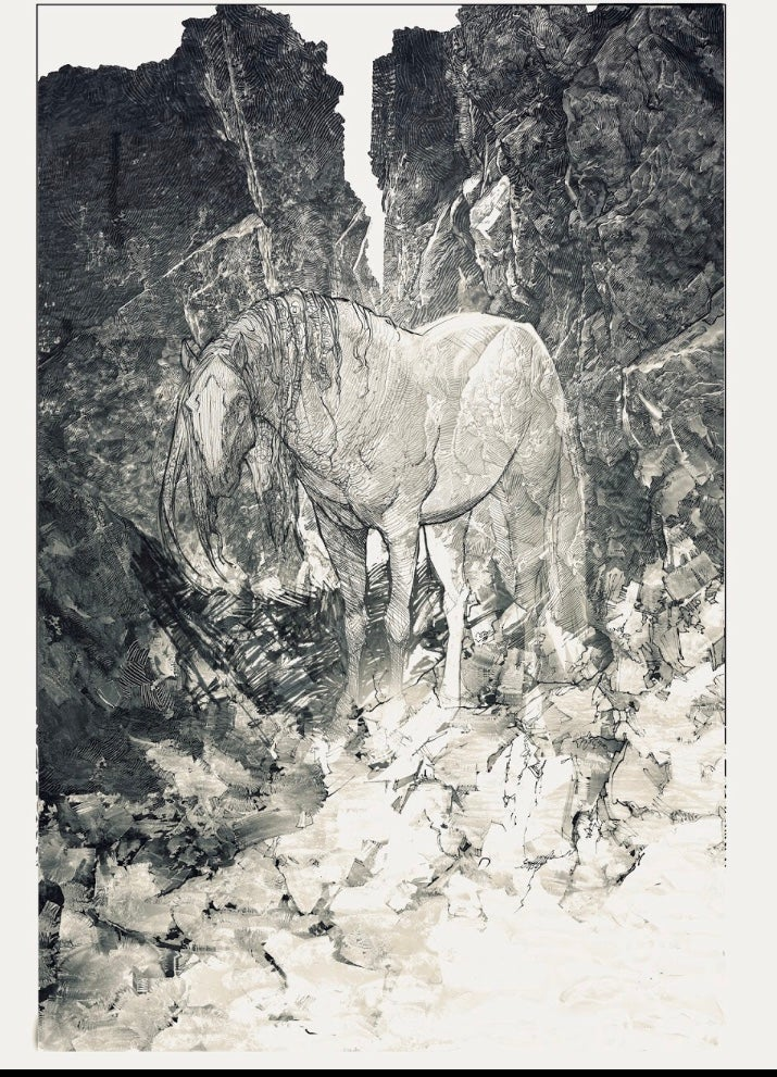 Image of The Shaman's Horse Of Stories by Evan Cagle