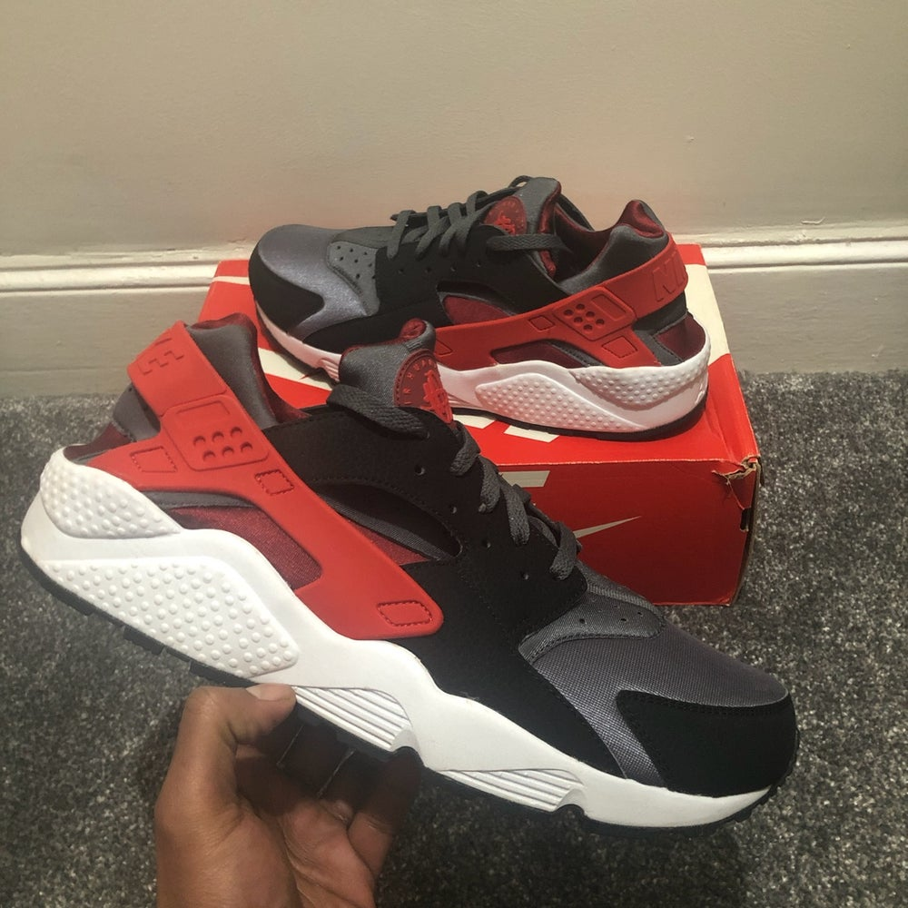 Image of Nike Air Huarache Challenge Red