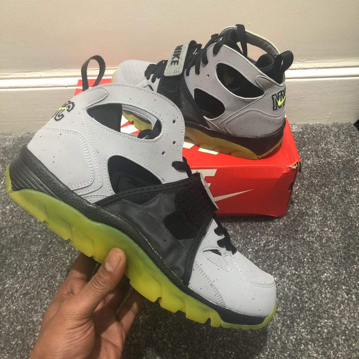 Image of Nike Air Trainer Huarache PRM QS NYC