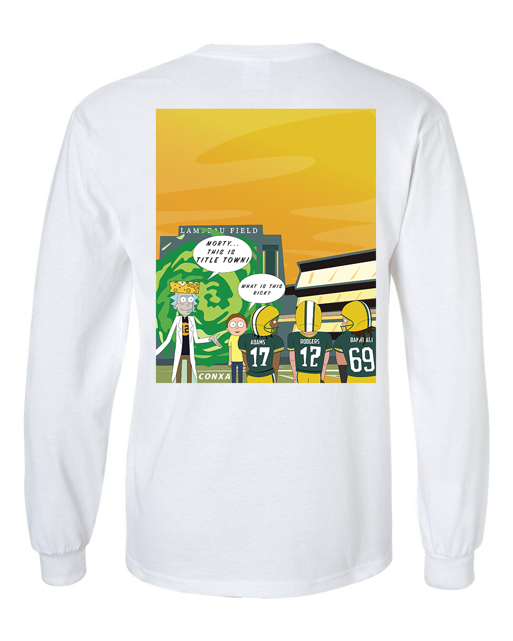 Image of Rick and Morty X GB Packers